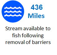 Fish access metric home page